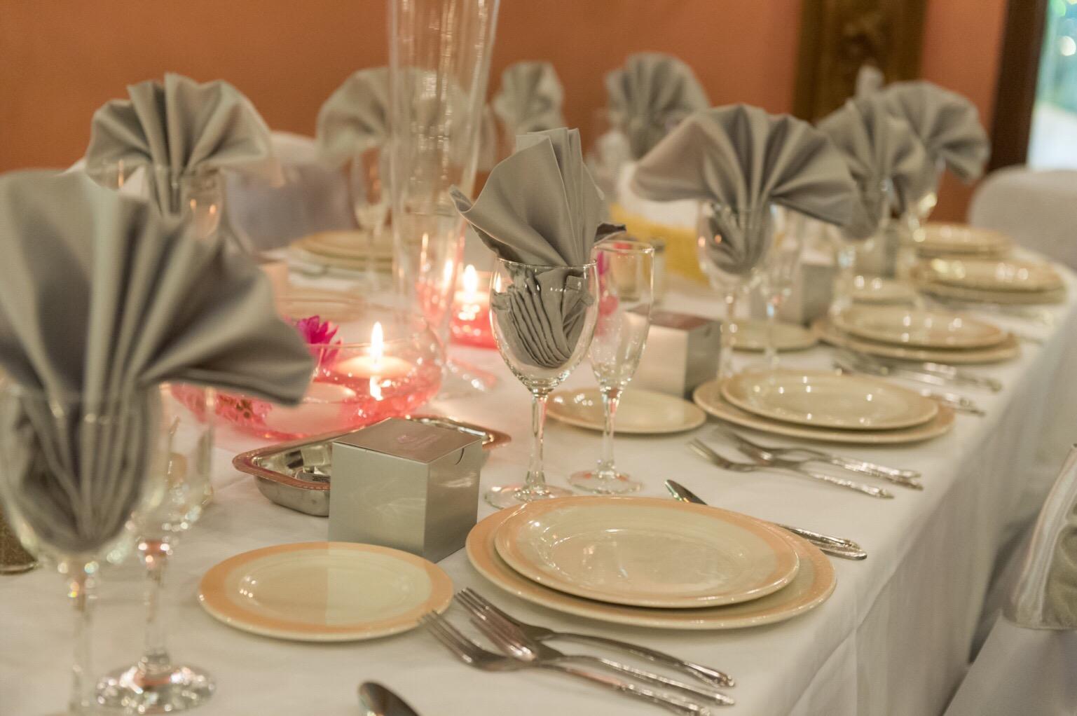 Table Setting At Glen Terrace